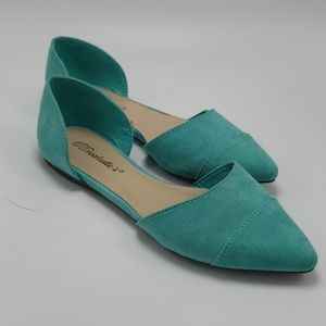 Breckelle's | Teal blue flats